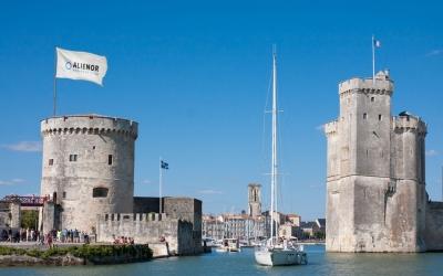 Alienor arrive à La Rochelle
